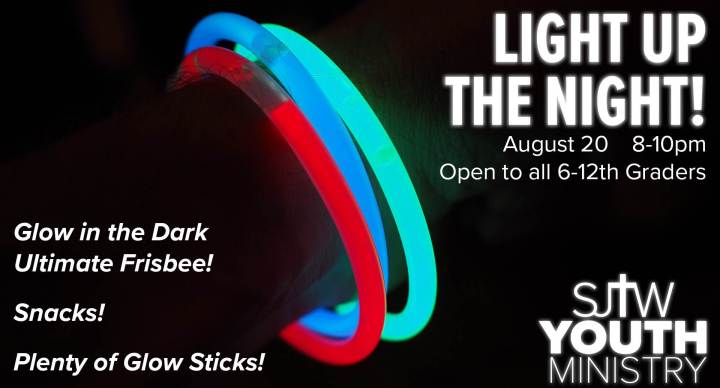 Youth Ministry Light Up the Night