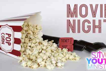 Youth Ministry Movie Night