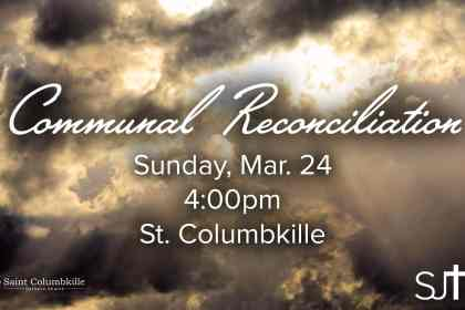 Communal Reconciliation Sunday March 24