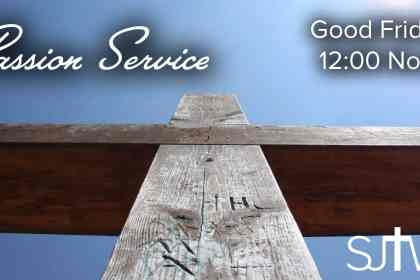 Passion Service at Noon
