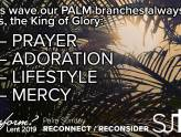 Palm Sunday - Reconnect/Reconsider