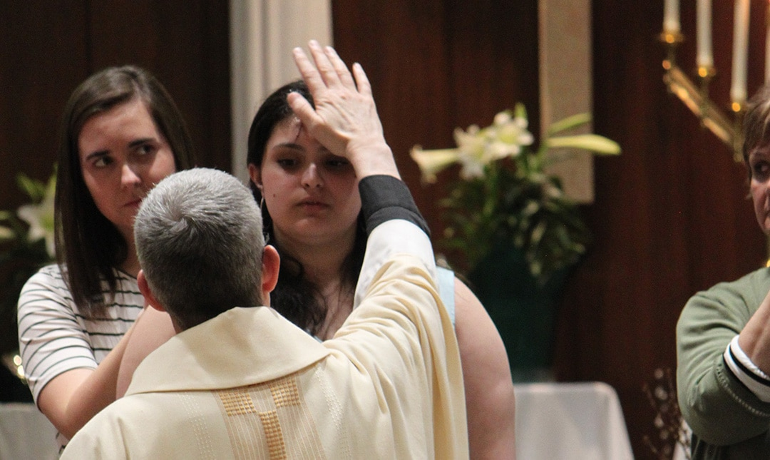 Confirmation at the Easter Vigil