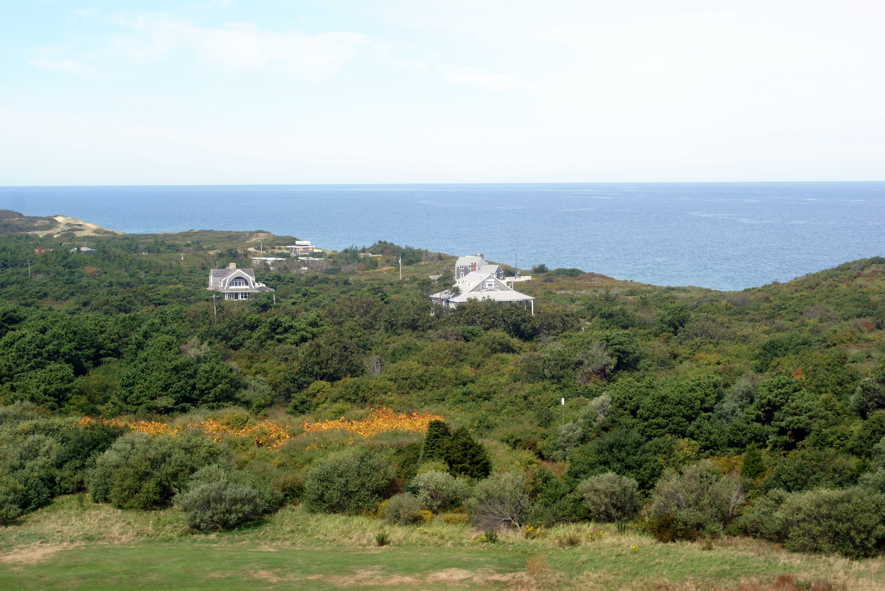 View from Highland Lighthouse, Cape Cod (they say on a clear day you can see Nova Scotia)