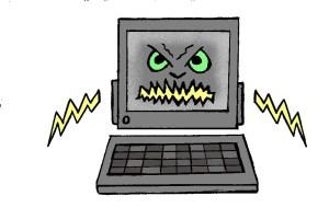 evil computer kills