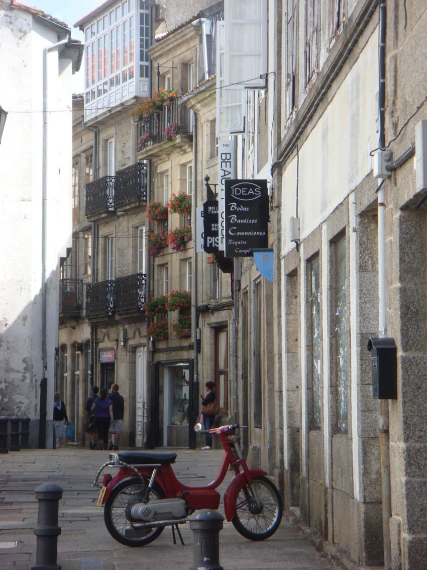 Santiago de Compostela streets