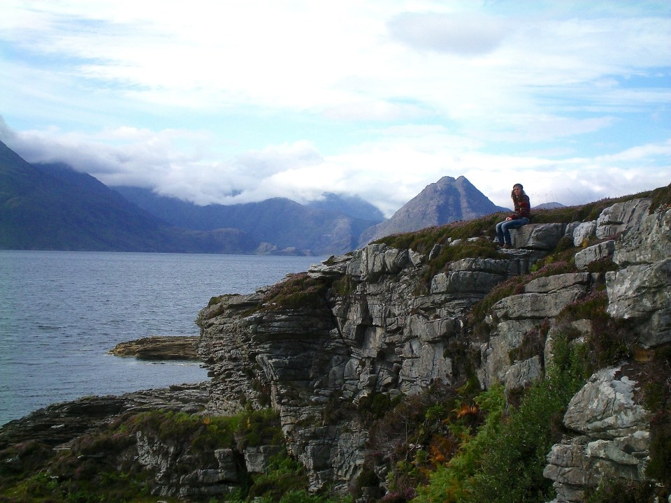 Cliffs in Elgol