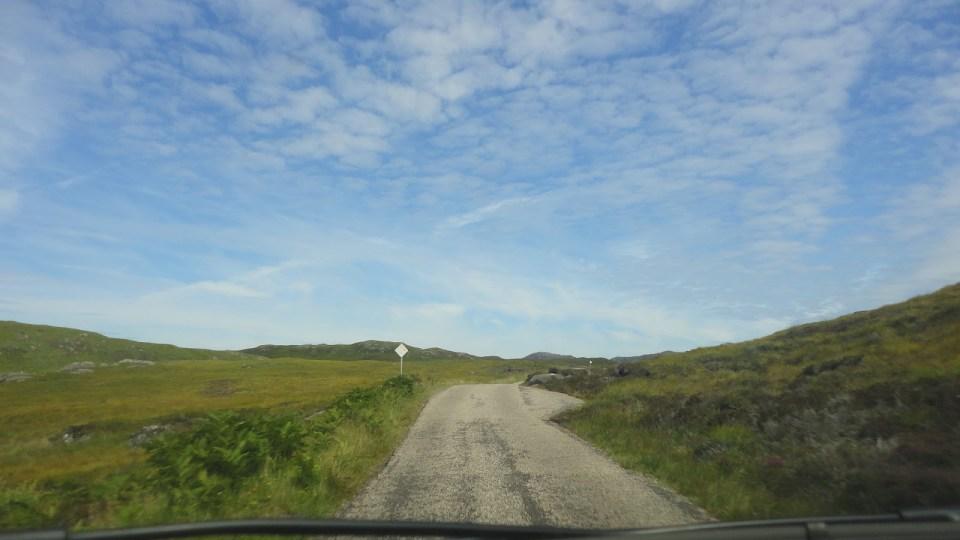scotland countryside roads