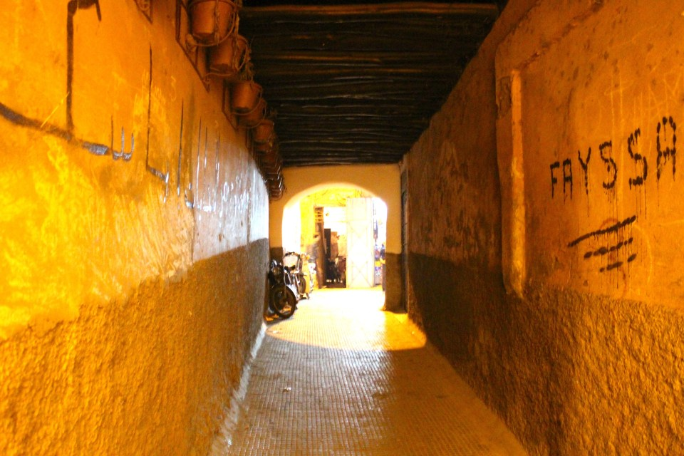 Alleyway to Riad