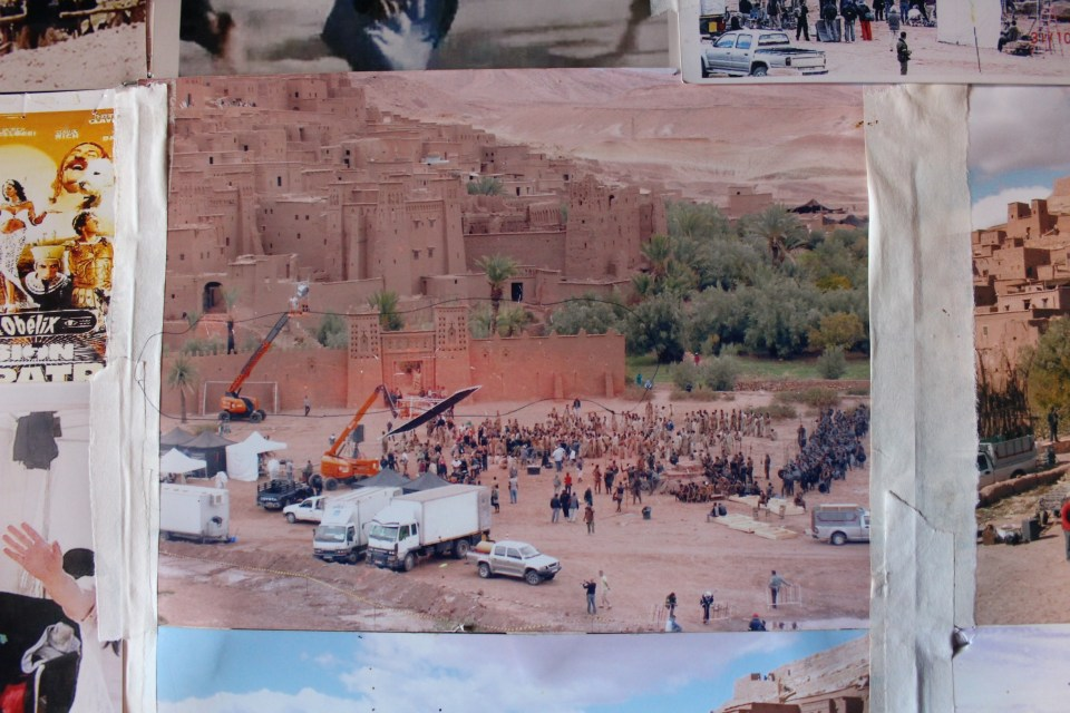 Photo of set of GOT