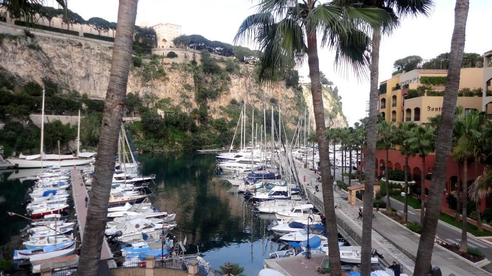 Monaco- Port de FontVieille