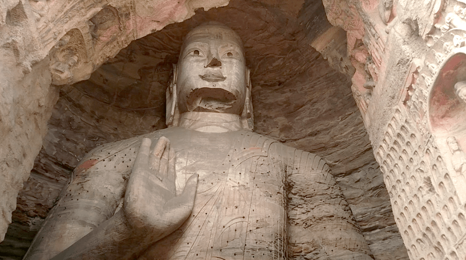 Yungang Grottoes carvings 2