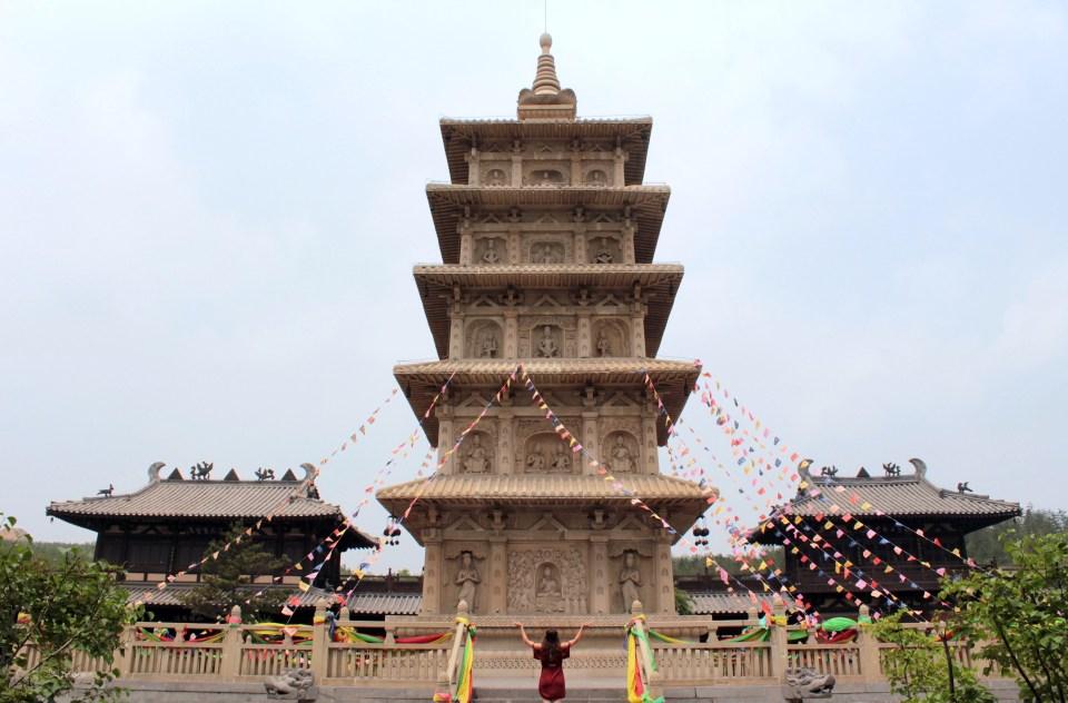 Yungang Grottoes pagoda 1