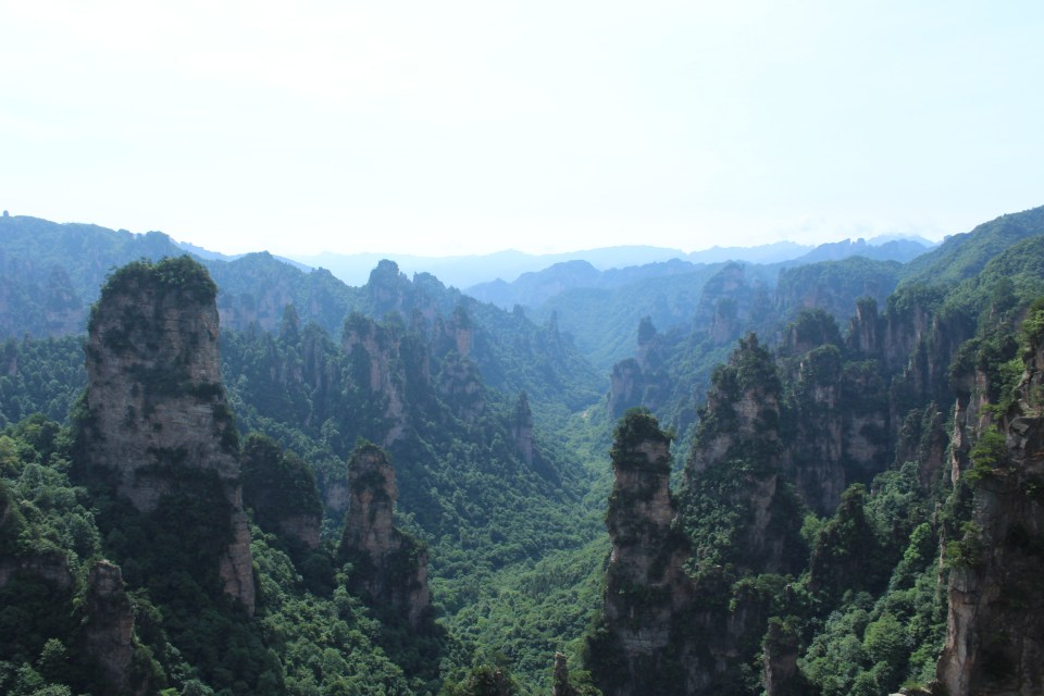 Zhangjiajie National Park 2