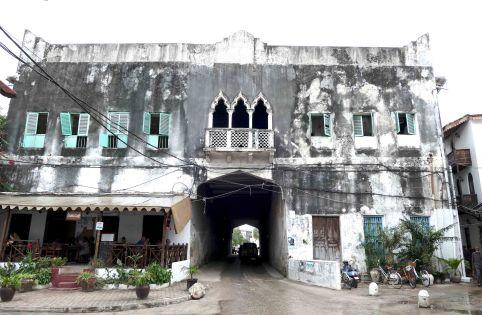 Zanzibar Stone Town buildings