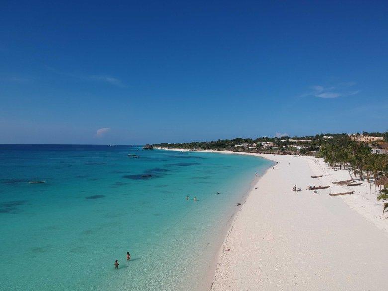 Nungwi beach . Zanzibar Tanzania