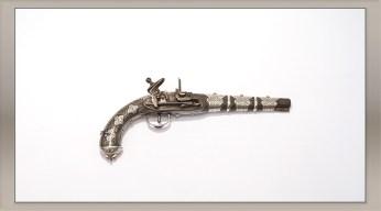 Flint-Pistol. Morocco