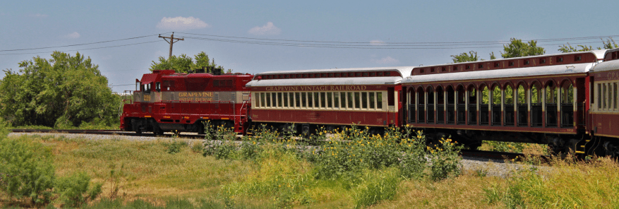 The Grapevine Vintage Railroad: majestic (and hot) in all its nostalgia.