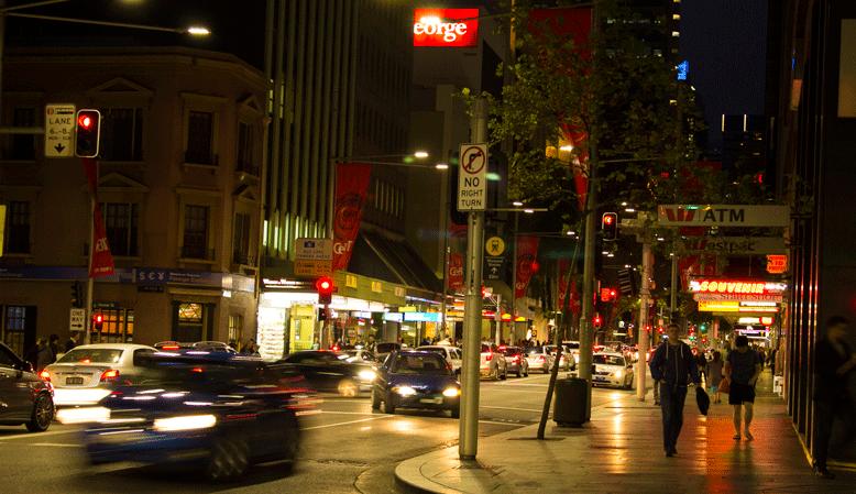 Australia-night