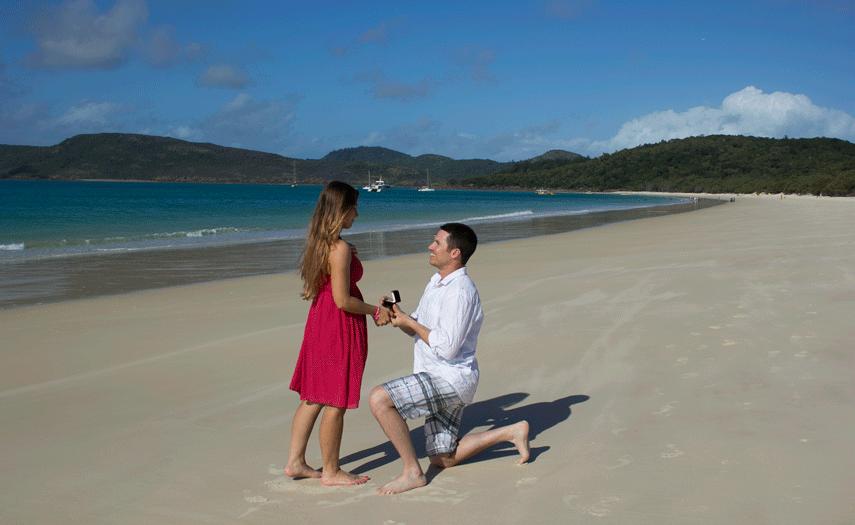 A Whitehaven Beach Proposal