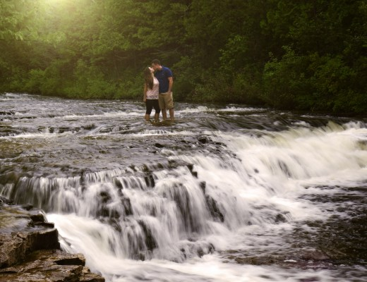 best weekend getaways - Ocqueoc Falls in Michigan