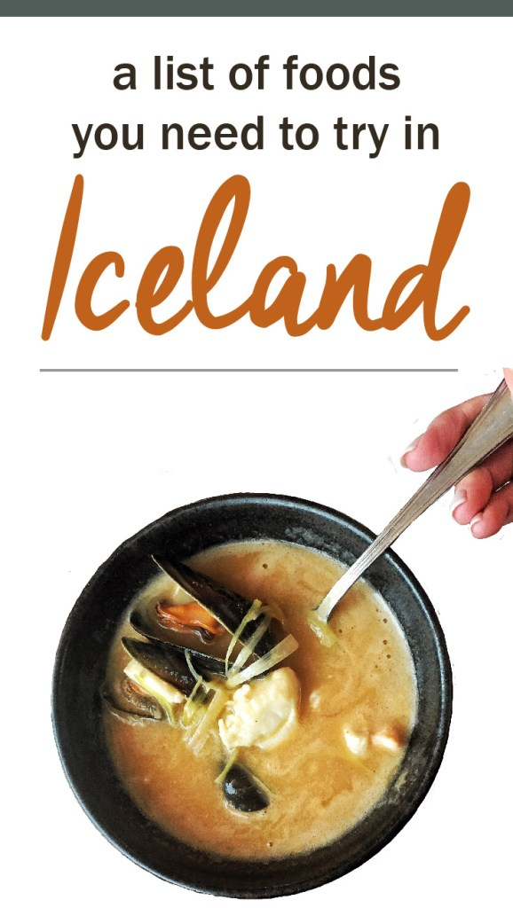 what to eat in Iceland, food in Iceland