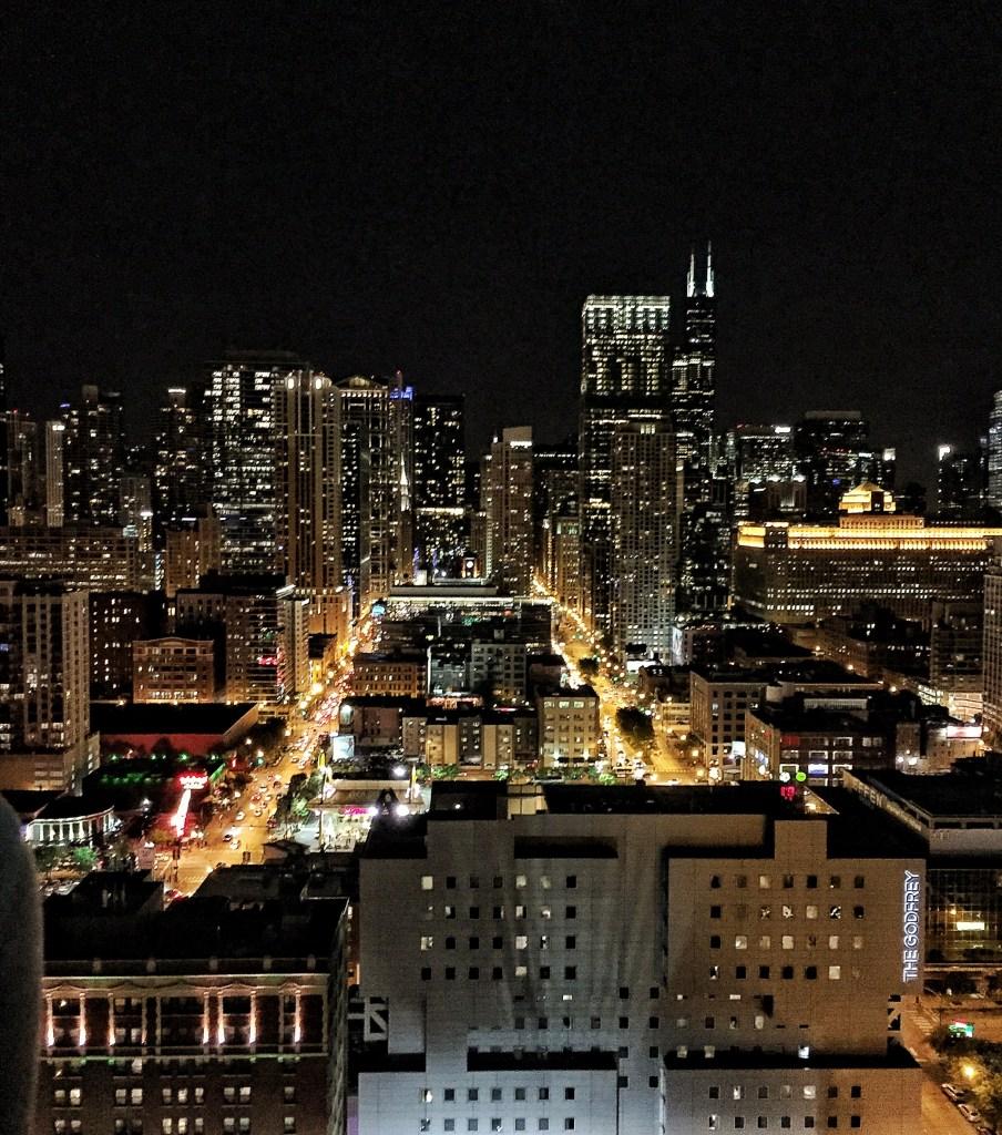 Chicago penthouse skyline