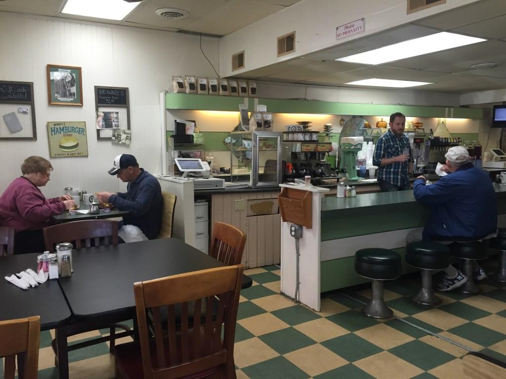 Busy Bee Restaurant in Marietta, Ohio