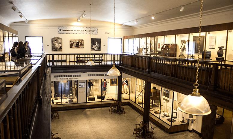 inside the Campus Martius museum in Marietta