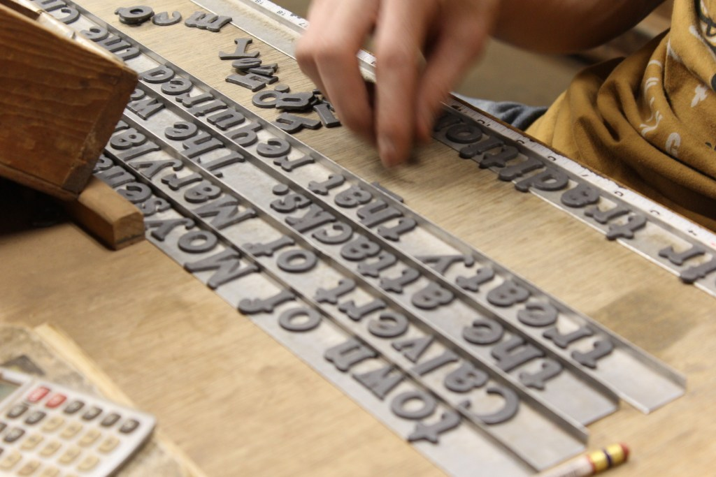 Sewah Studios typeface in creating the historical markers