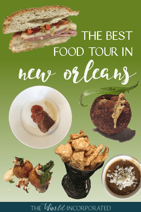 Want to go on the best food tour in New Orleans? You must book Dr. Gumbo's history of New Orleans food tour. This NOLA food tour will take you to some of the most historic restaurants and most classic cuisine in New Orleans. From gumbo to beignet to muffaletta to poboy, this tour will show you exactly what to eat and where to eat in New Orleans.