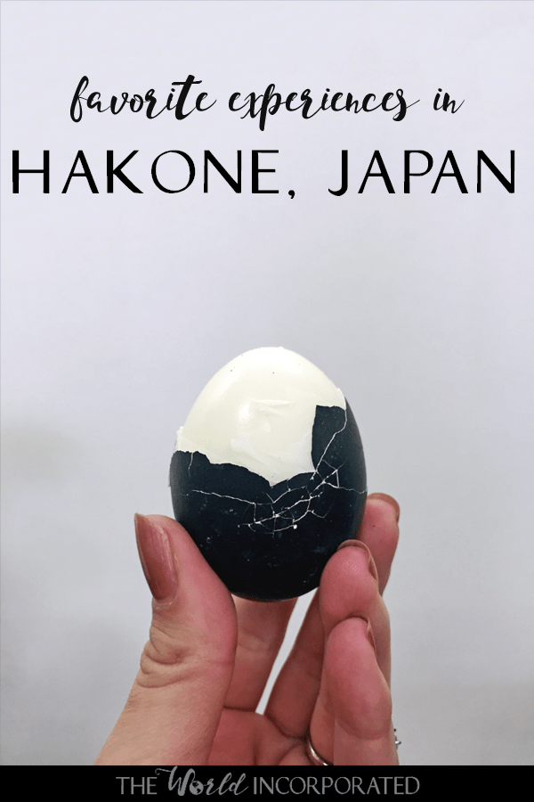 Planning a trip to Hakone, Japan? Here are my favorite experiences in Hakone! Inspiration for things to do in Hakone, what to eat in Hakone, and of course, the famous Hakone black eggs!