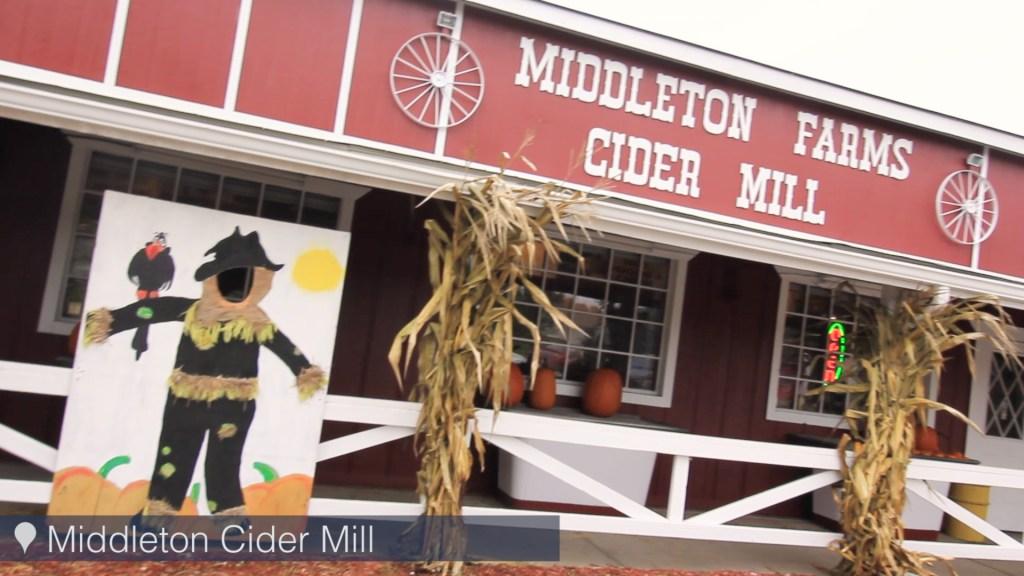 Michigan Cider Mills - Middleton Cider Mill in
