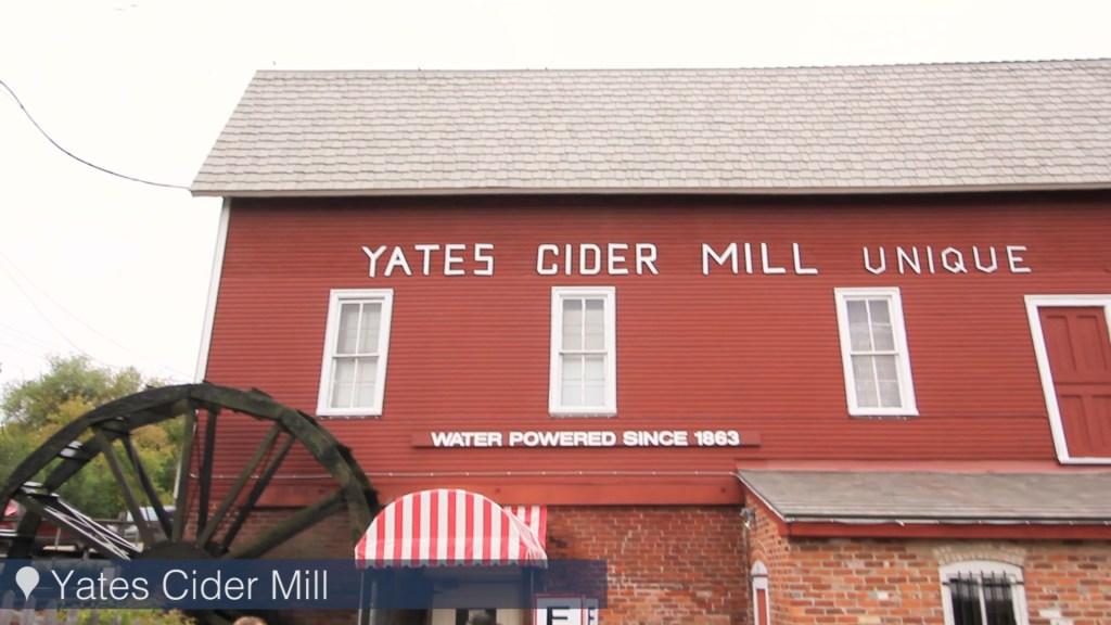 Michigan cider mills - Yates Cider Mill in Rochester