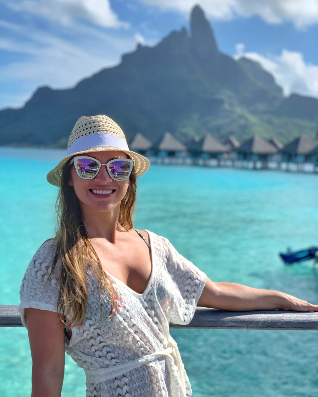 travel blogger Amanda visits Bora Bora
