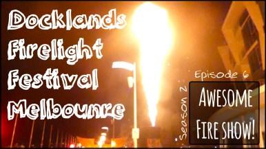Docklands Firelight Festival Melbourne
