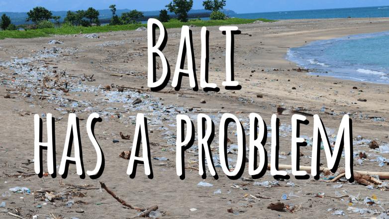 Bali rubbish