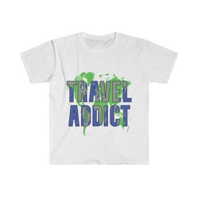 Travel Addict | Softstyle Tee