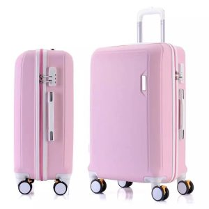 ABS+PC luggage set travel suitcase on wheels Trolley luggage carry on cabin suitcase Women bag Rolling luggage spinner wheel