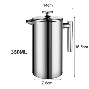 Travel Coffee Plunger | French Press | 350mL