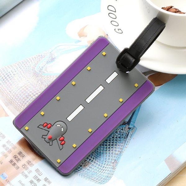 6 - Runway Purple - LITTLE TRAVELER LUGGAGE TAG