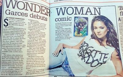 Daily News: Wonder Women Garces Debuts Aluna Comic Book