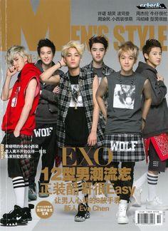 EXO - K @ chinese mag