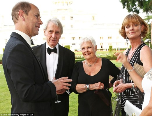 All for a good cause: Dame Judi admitted her nephew had taken part in the Duke Of Edinburgh Award scheme