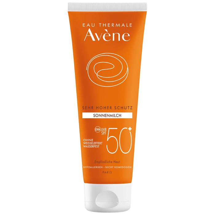 SPF 50 cream of Eau Thermale Avène