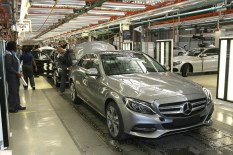 Production of the new Mercedes-Benz C-Class at the East London, South Africa, plant
