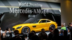 Weltpremiere: Der neue Mercedes-AMG GT, Affalterbach 2014 World Premiere: The new Mercedes-AMG GT, Affalterbach 2014