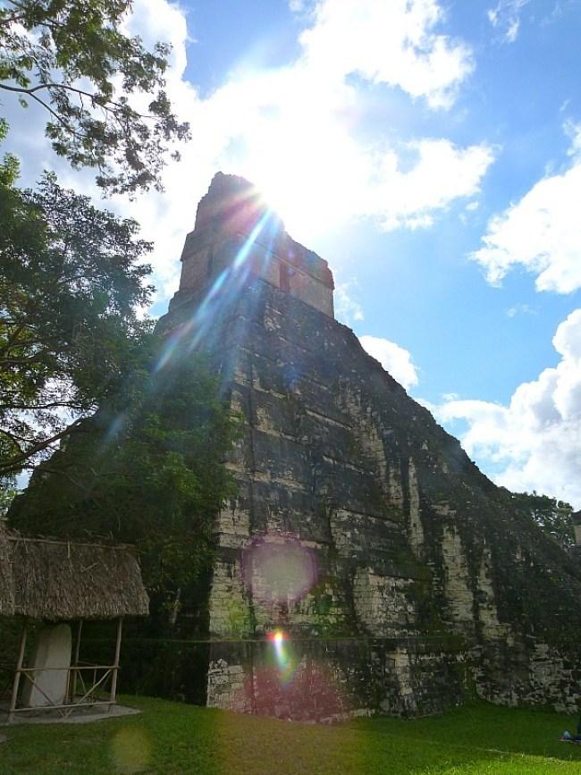 Exploring the Tikal Ruins in Guatemala