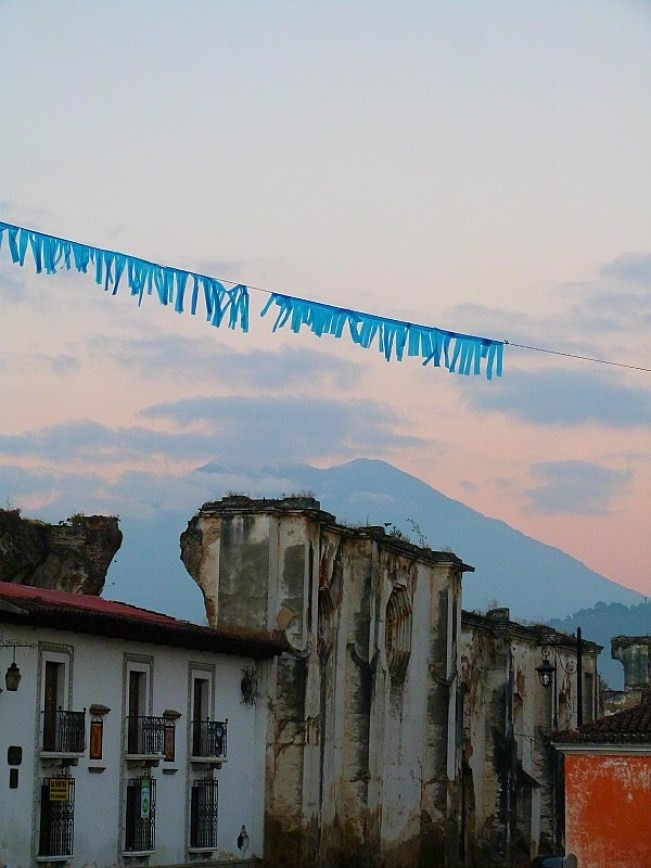 Early morning in Antigua, Guatemala