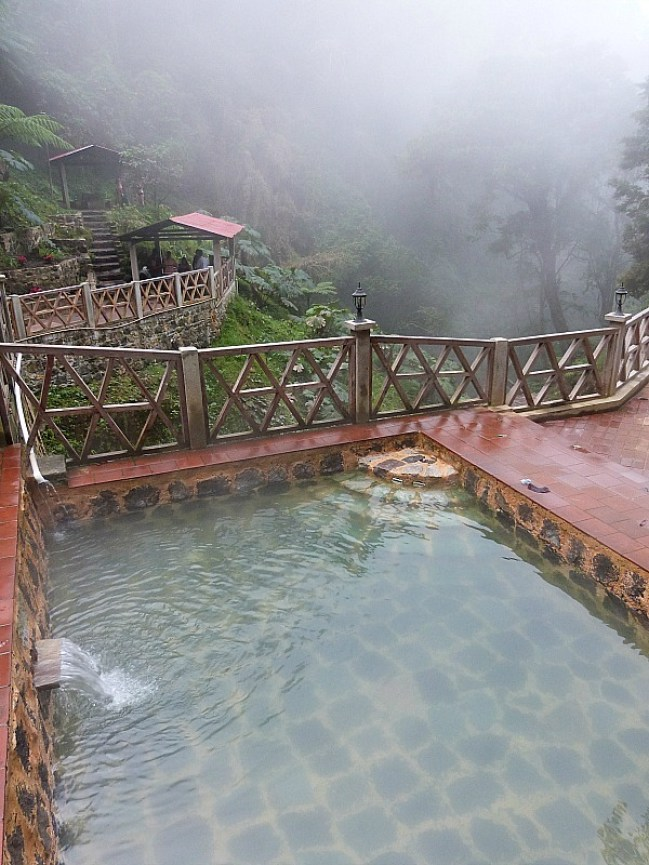 Fuentes Georginas Hot Springs in Guatemala