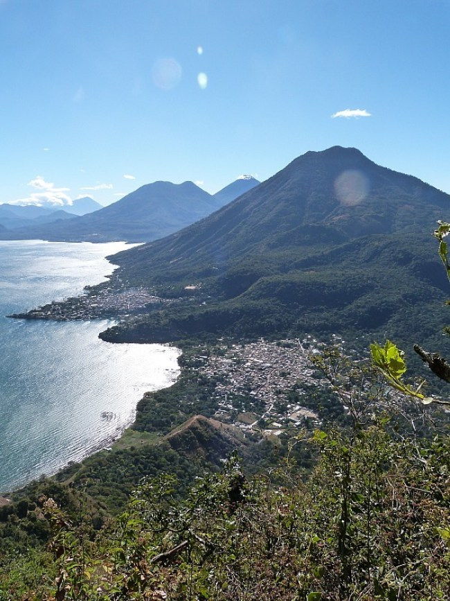 Hiking Indian Nose from San Pedro on Lake Atitlan, Guatemala